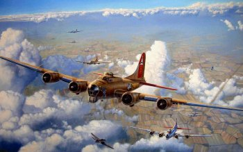Military - Boeing B-17 Flying Fortress Wallpapers and Backgrounds ID : 108711