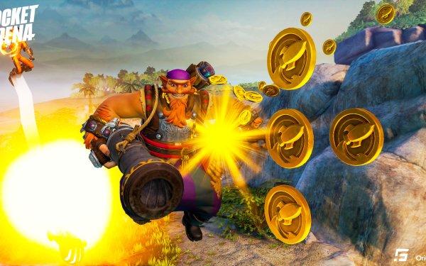Video Game Rocket Arena HD Wallpaper   Background Image