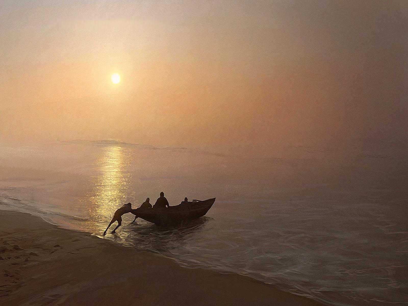 CGI - Landschap  Achtergrond