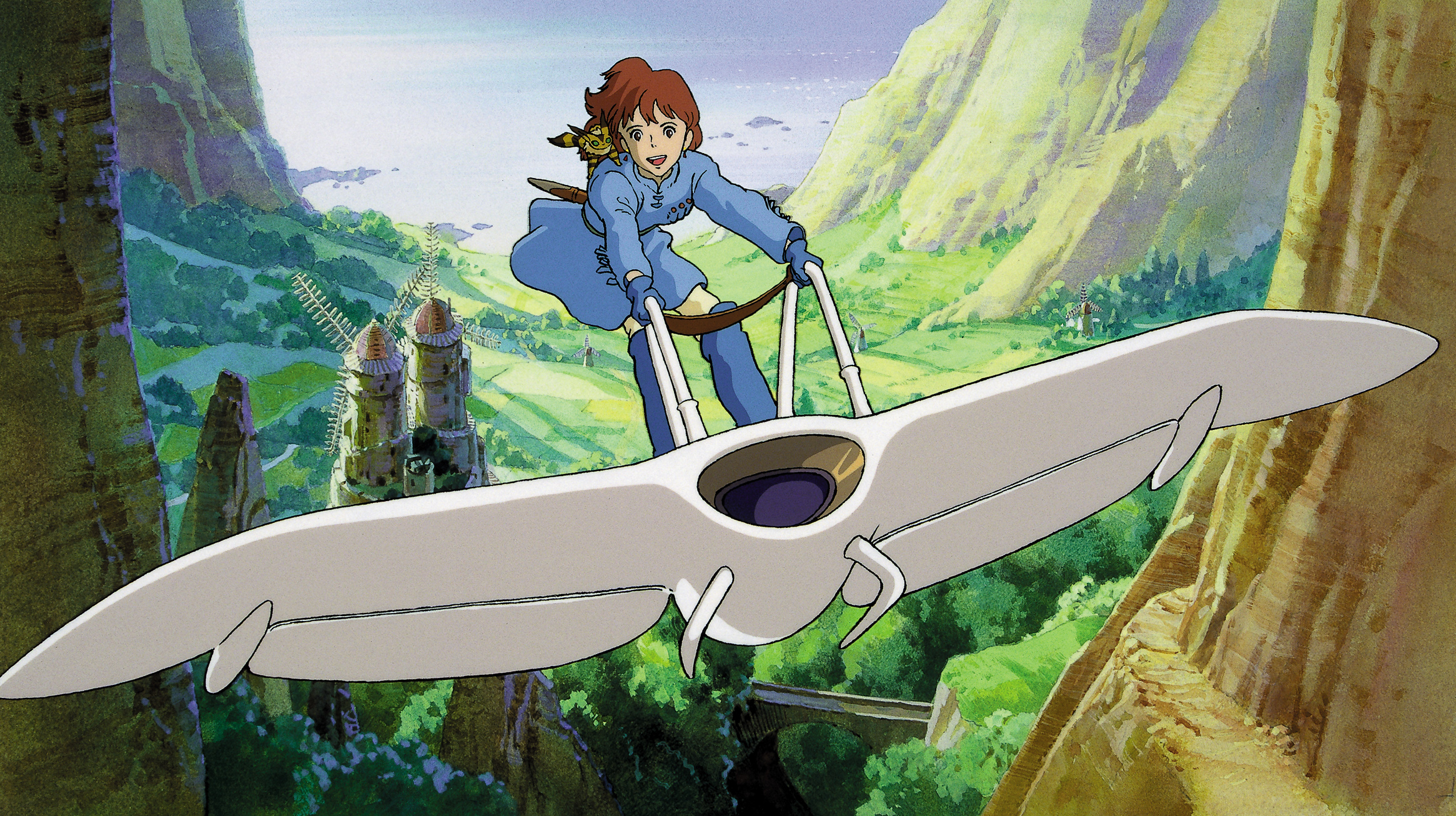 52 Nausicaa Of The Valley Of The Wind Hd Wallpapers Background