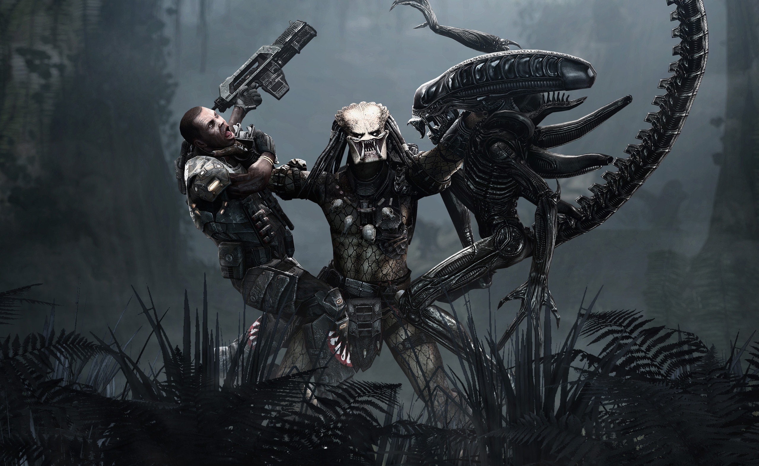 30 aliens vs predator hd wallpapers background images wallpaper hd wallpaper background image id109601 voltagebd Images