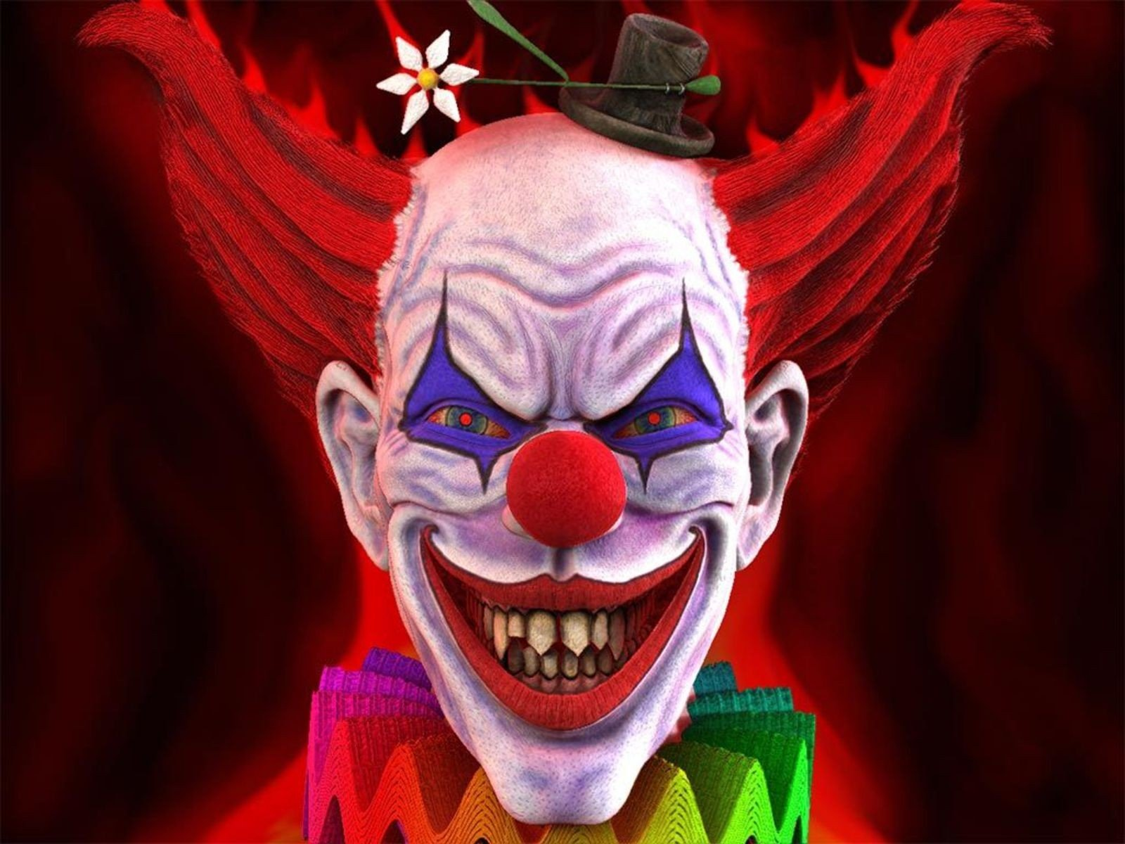 CGI - Clown  Wallpaper