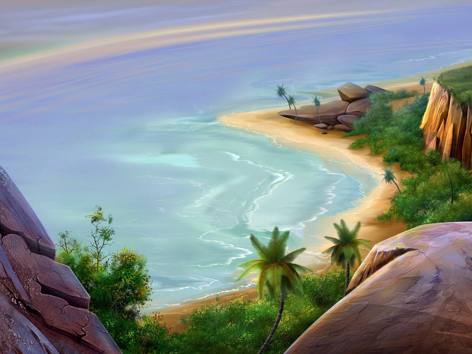 Artistic - Landscape  Wallpaper