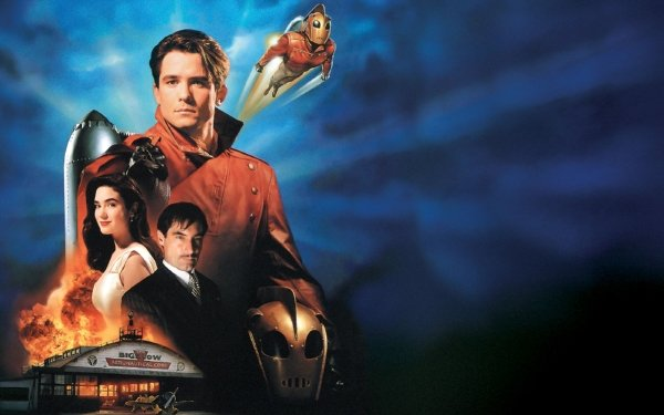 Movie The Rocketeer Timothy Dalton Jennifer Connelly HD Wallpaper   Background Image