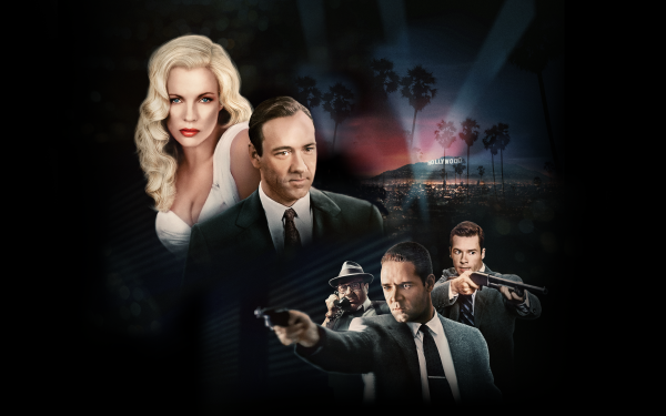 Movie L.A. Confidential Kevin Spacey Kim Basinger Russell Crowe Guy Pearce Danny DeVito HD Wallpaper | Background Image