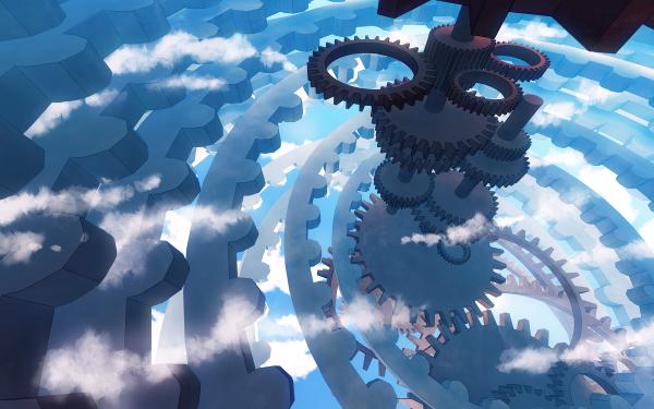 Anime Original Gear HD Wallpaper   Background Image