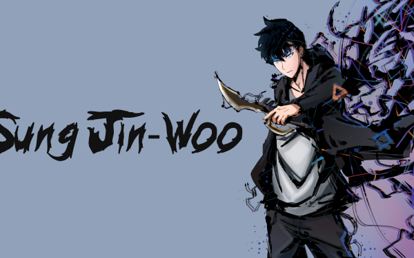 Anime Solo Leveling Sung Jin-Woo HD Wallpaper | Background Image