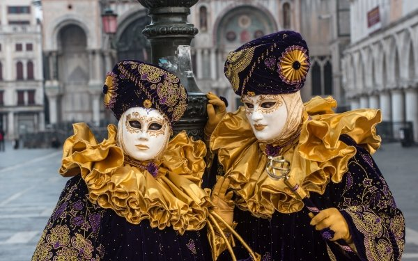 Photography Carnival of Venice Italy Venice Carnival Costume HD Wallpaper | Background Image