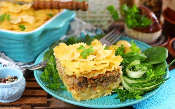 Food Pasta Stuffing HD Wallpaper | Background Image