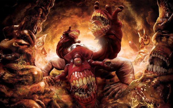 Jeux Vidéo Dante's Inferno Monstre Ogre Fond d'écran HD   Image