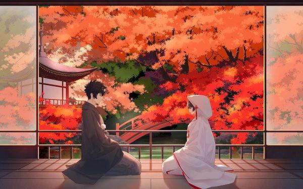Anime Psycho-Pass Shinya Kogami Akane Tsunemori Boy Girl HD Wallpaper | Background Image