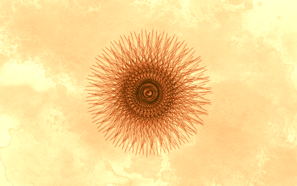 Abstract Artistic Brown Pattern Guilloche HD Wallpaper | Background Image