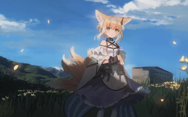 Video Game Arknights Suzuran HD Wallpaper   Background Image