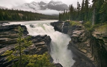 Earth - Athabasca Falls Wallpapers and Backgrounds ID : 110041