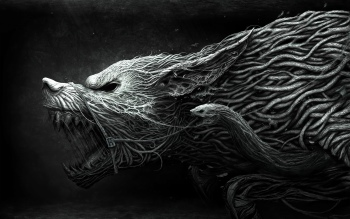 Dark - Werewolf Wallpapers and Backgrounds ID : 110051