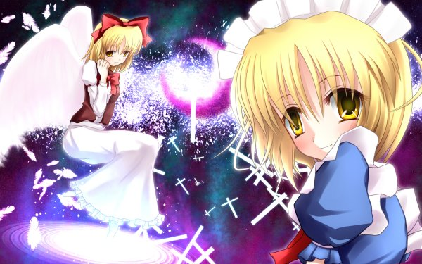 Anime Touhou Yumeko Mugetsu HD Wallpaper | Background Image