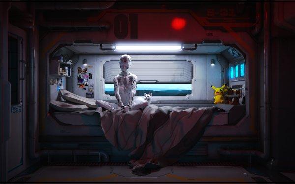 Sci Fi Cyborg Robot HD Wallpaper | Background Image