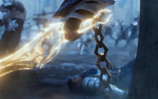Videojuego League Of Legends Sylas Garen Espada Fondo de pantalla HD | Fondo de Escritorio