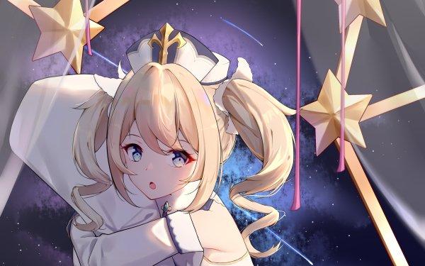 Video Game Genshin Impact Barbara Blue Eyes Blonde HD Wallpaper   Background Image