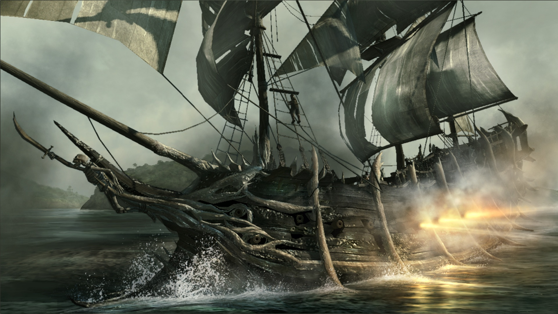 pirate ship computer wallpapers - photo #29