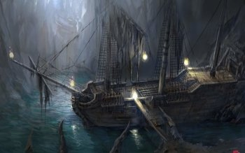 Fantasy - Pirate Wallpapers and Backgrounds ID : 111121