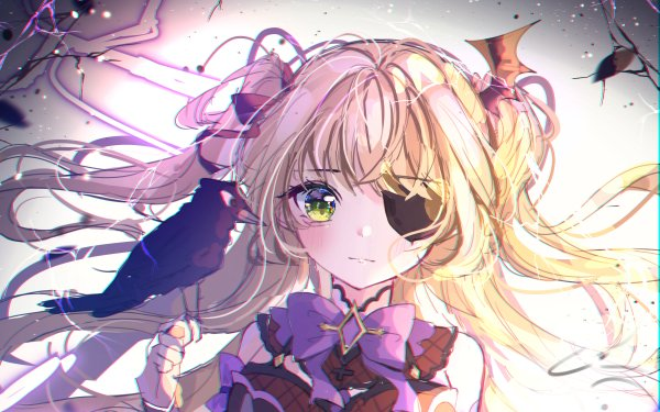 Video Game Genshin Impact Fischl HD Wallpaper | Background Image