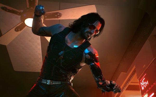 Video Game Cyberpunk 2077 Johnny Silverhand Cyborg HD Wallpaper | Background Image