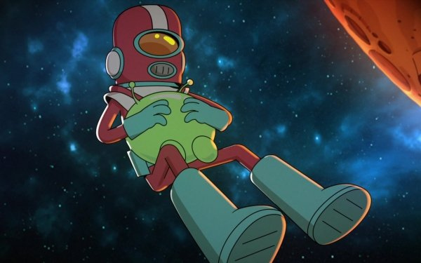 TV Show Final Space Gary Goodspeed Mooncake Boots Space HD Wallpaper   Background Image
