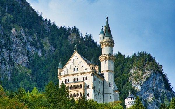 Man Made Neuschwanstein Castle Germany Neuschwanstein Castle HD Wallpaper | Background Image