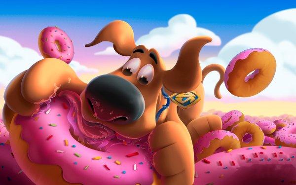 Movie Scoob! Scooby-Doo Doughnut HD Wallpaper | Background Image