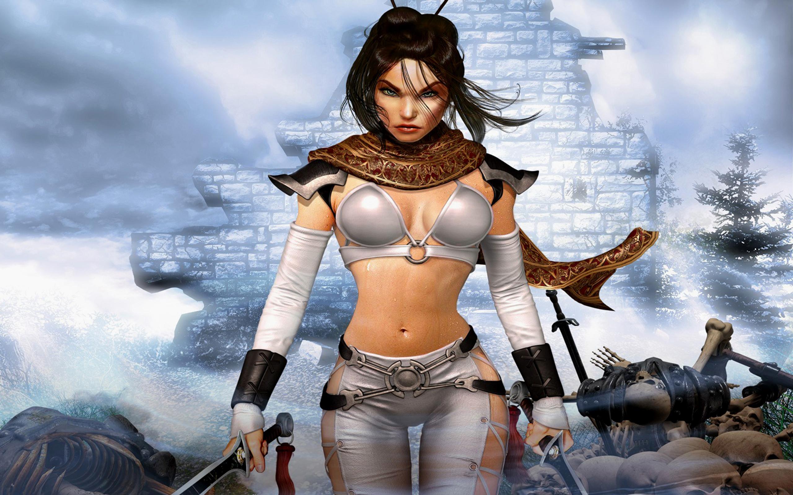 Jeux Vidéo - Untold Legends Dark Kingdom  Fond d'écran