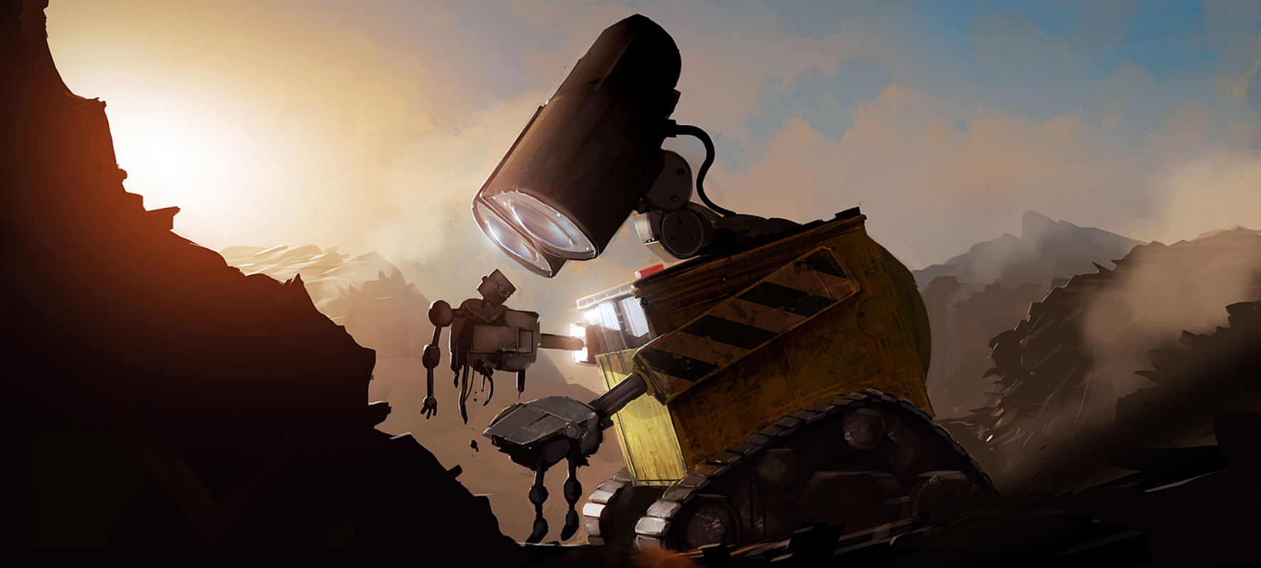wall·e wallpaper and background image | 1775x800 | id:112301