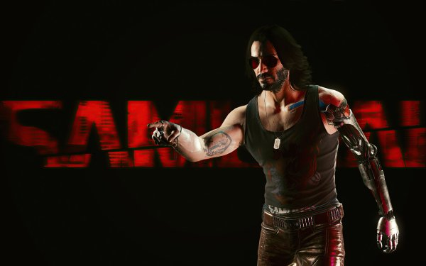 Video Game Cyberpunk 2077 Cyberpunk Keanu Reeves Johnny Silverhand HD Wallpaper | Background Image