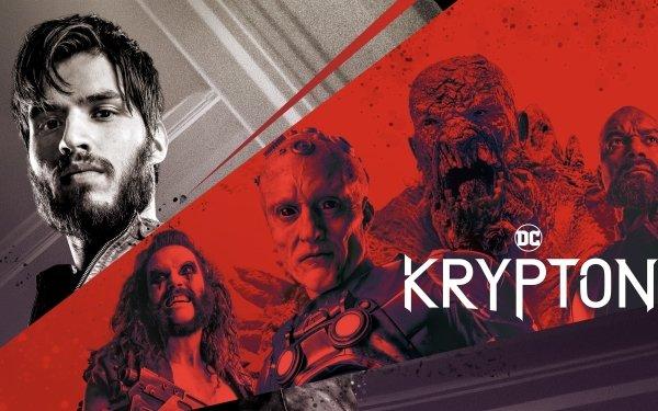 TV Show Krypton Superman Krypto Doomsday General Zod Lobo Brainiac Seg-El HD Wallpaper | Background Image