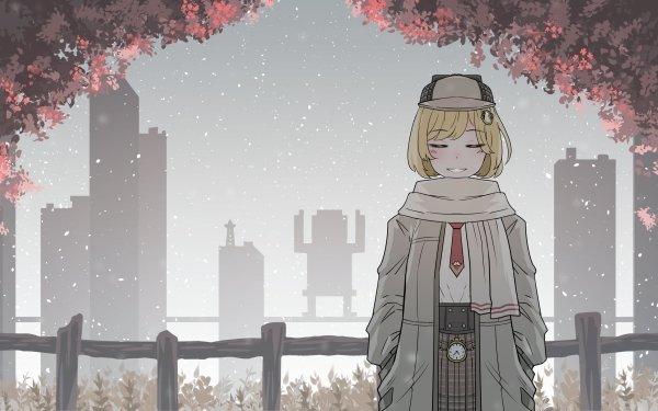 Anime Virtual Youtuber Watson Amelia HD Wallpaper | Background Image