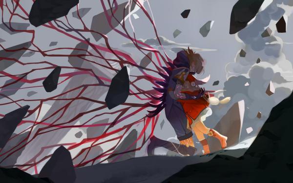 Video Game Genshin Impact Albedo Klee HD Wallpaper | Background Image