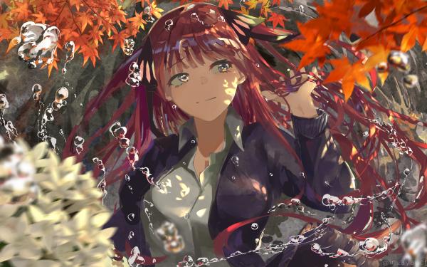 Anime The Quintessential Quintuplets Gotoubun no Hanayome Nino Nakano Pink Hair Long Hair HD Wallpaper | Background Image