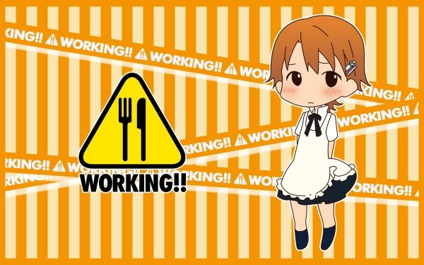 Anime Working!! HD Wallpaper | Background Image