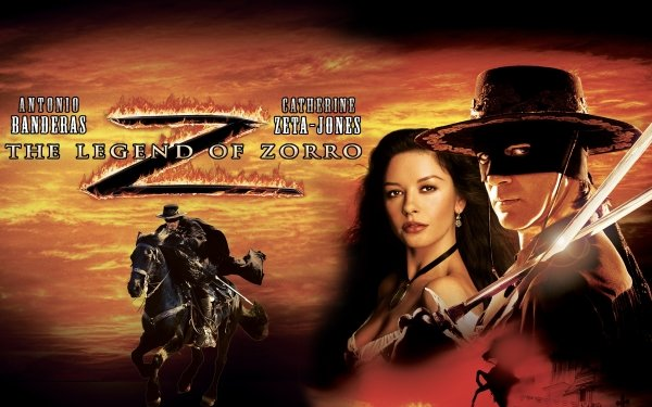 Movie The Legend of Zorro Antonio Banderas Catherine Zeta-jones HD Wallpaper | Background Image