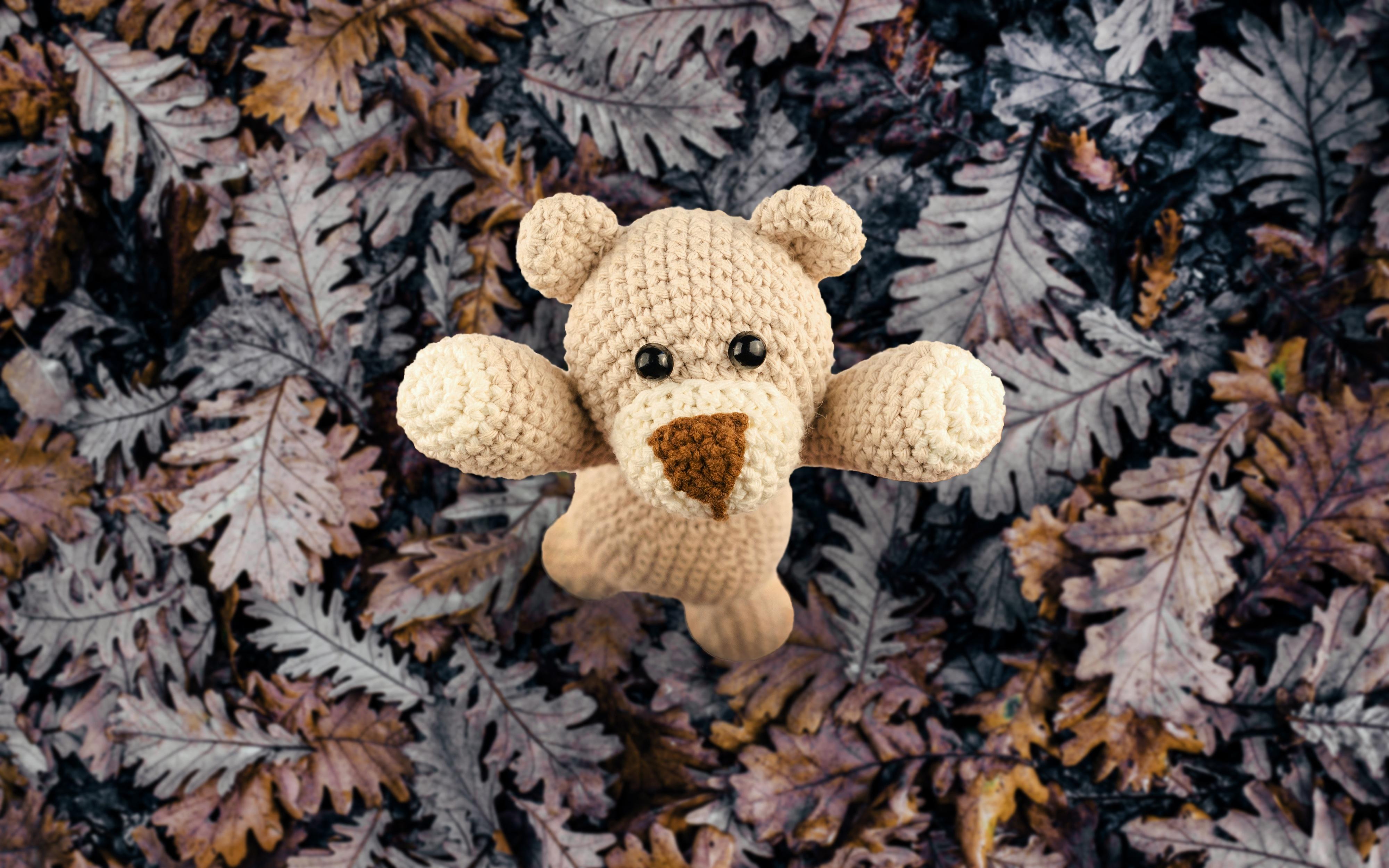 毛绒玩具 玩具熊图片 4K高清壁纸 其他壁纸-第2张