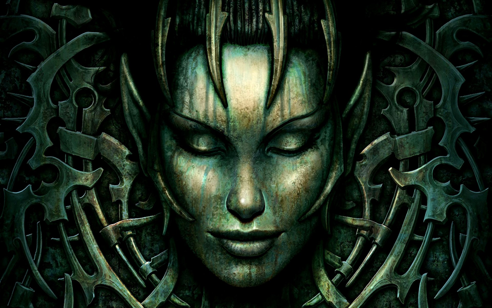 Jeux Vidéo - Spellforce 2: Shadow Wars  Jeux Vidéo Spellforce Woman Face Fond d'écran