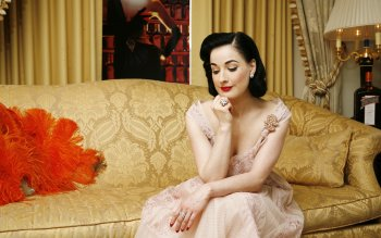 Celebrita' - Dita Von Teese Wallpapers and Backgrounds ID : 113101