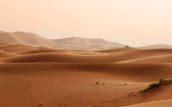 Earth Desert Dune Sand Morocco HD Wallpaper   Background Image