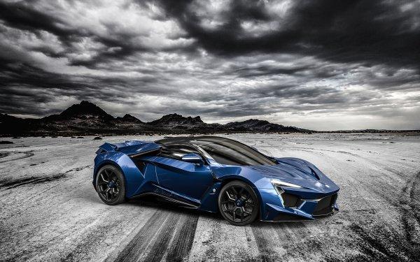 Vehicles Fenyr SuperSport Car Blue Car Sport Car HD Wallpaper | Background Image