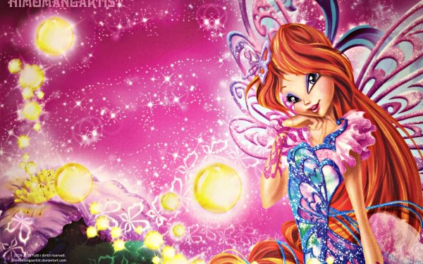 TV Show Winx Club Bloom Fairy Red Hair HD Wallpaper   Background Image