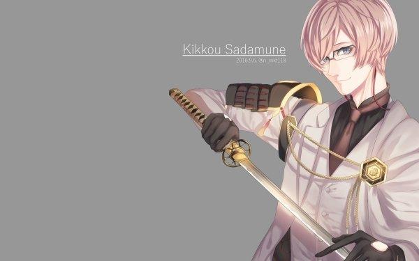 Anime Touken Ranbu Kikkou Sadamune HD Wallpaper   Background Image