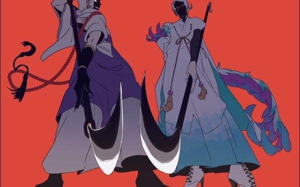 Anime Touken Ranbu Iwatooshi Tomoegata Naginata HD Wallpaper | Background Image