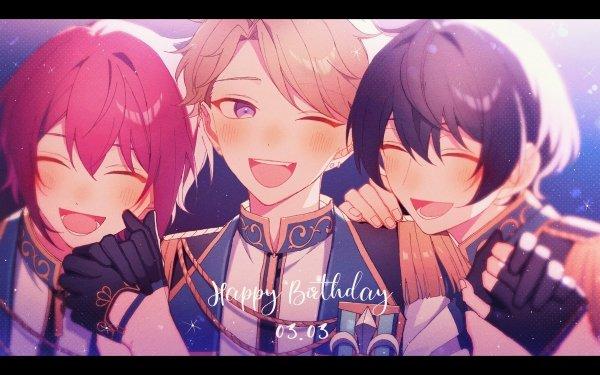 Anime Ensemble Stars Arashi Narukami Ritsu Sakuma Tsukasa Suou HD Wallpaper | Background Image