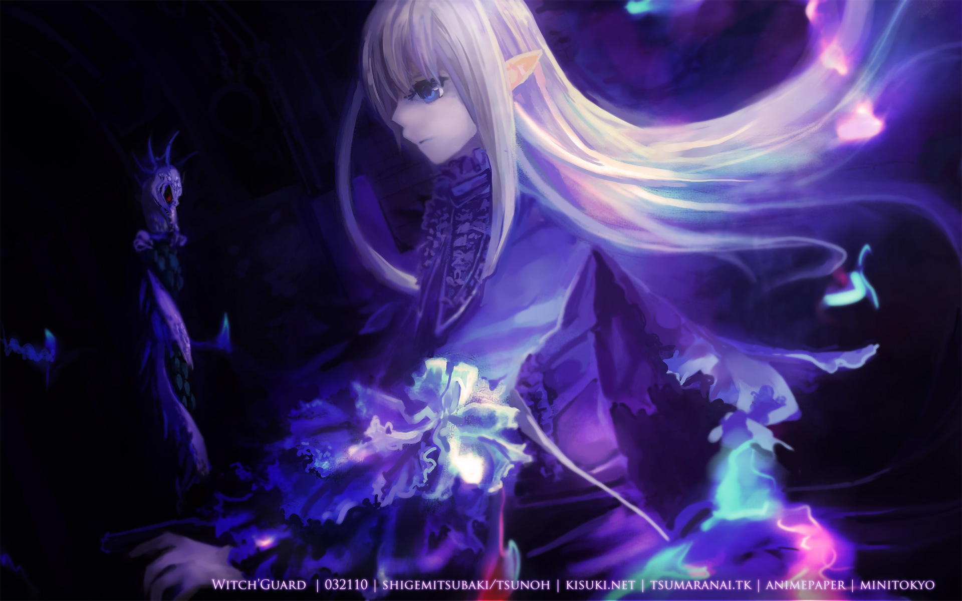 Original full hd wallpaper and background image - Blue anime wallpaper ...