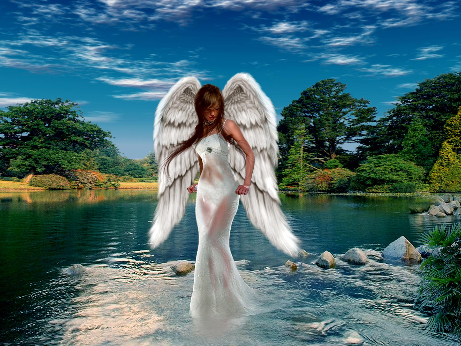 Fantasy - Angel Wallpaper